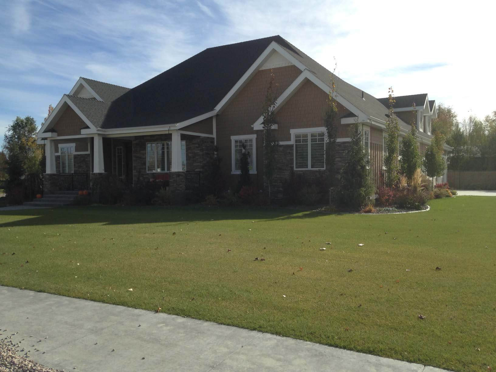 Home construction project in blackfoot id exterpro inc for Building a house in idaho