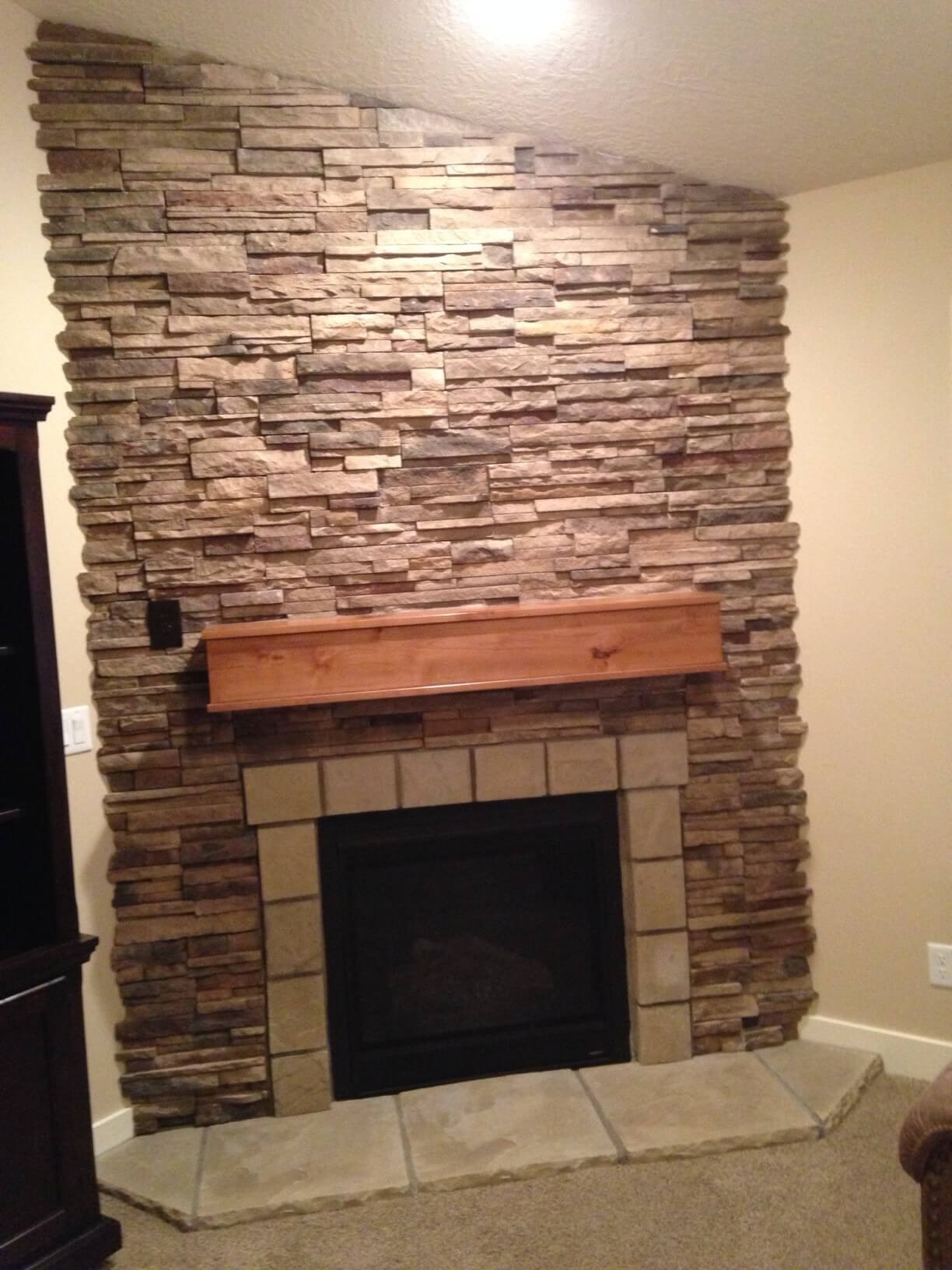 Interior Fireplace Remodel Project