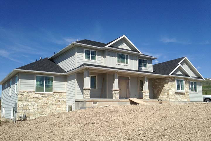Logan UT home exterior restoration